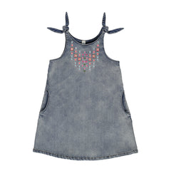 Blu - Tween Denim Dress^