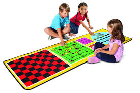 Melissa and Doug 4 in 1 Games Rug