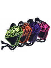 Snow Stoppers Neon Knit Hat