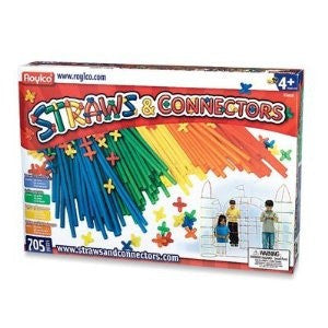 Straws & Connectors (705 pcs)