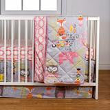 Living Textiles - 4 Piece Crib Set**
