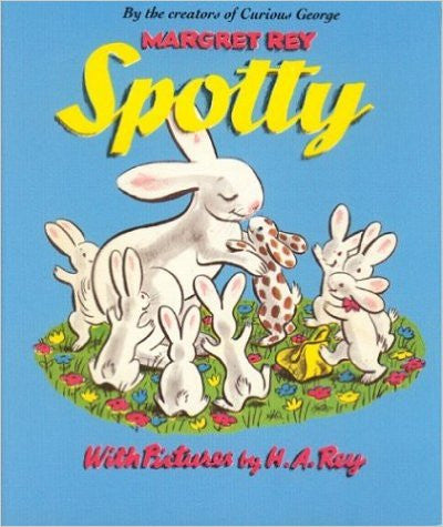 Houghton Mifflin - Spotty Bunny Book