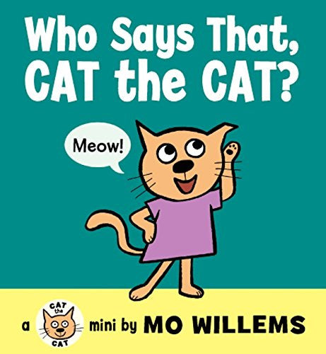 Harper Collins - Who Says that Cat the Cat