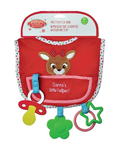 Clarice Reindeer - Activity Bib