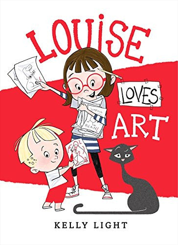Lousie Loves Art (Hardcover)