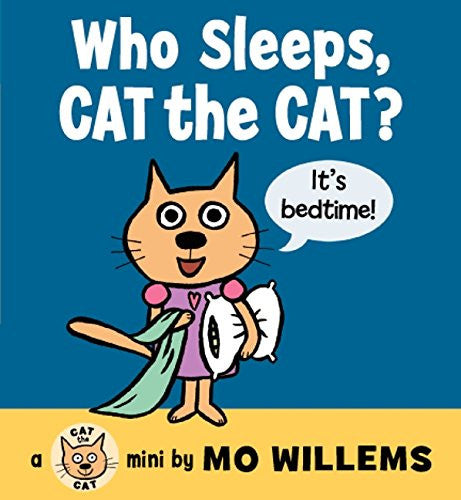 Harper Collins - Who Sleeps Cat the Cat Board Book