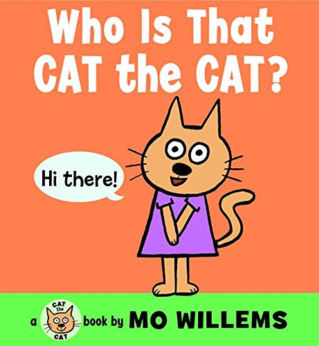 Harper Collins - Who is that Cat the Cat Board Book