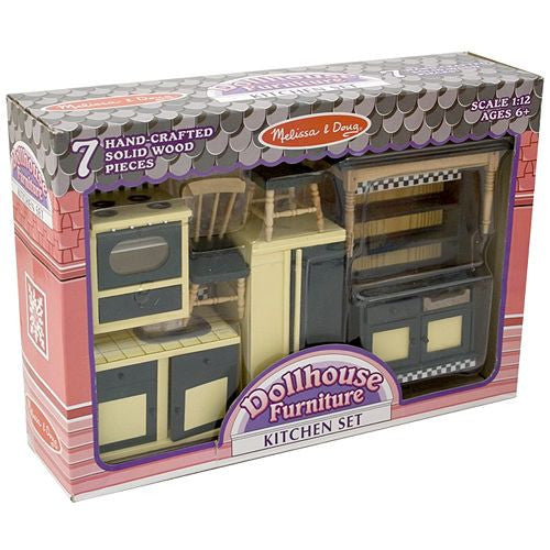 Melissa & Doug - Dollhouse Furniture Kitchen Set
