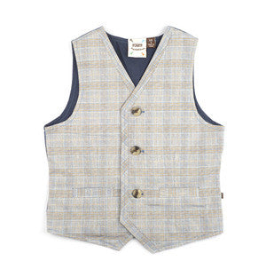 Fore!! Axel & Hudson - Plaid Woven Baby Vest^