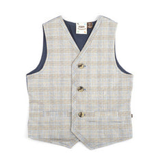 Fore!! Axel & Hudson - Plaid Woven Vest^