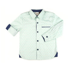 Fore!! Axel & Hudson - Long Sleeve Arrow Roll Cuff Print Shirt
