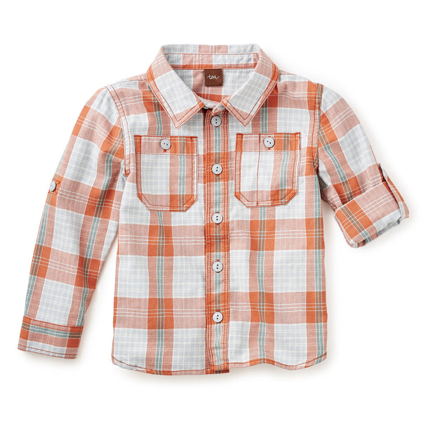 Tea Collection - Shinji Plaid Shirt