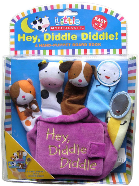 Scholastic - Little Scholastics; Hey Diddle Diddle , Hand Puppet