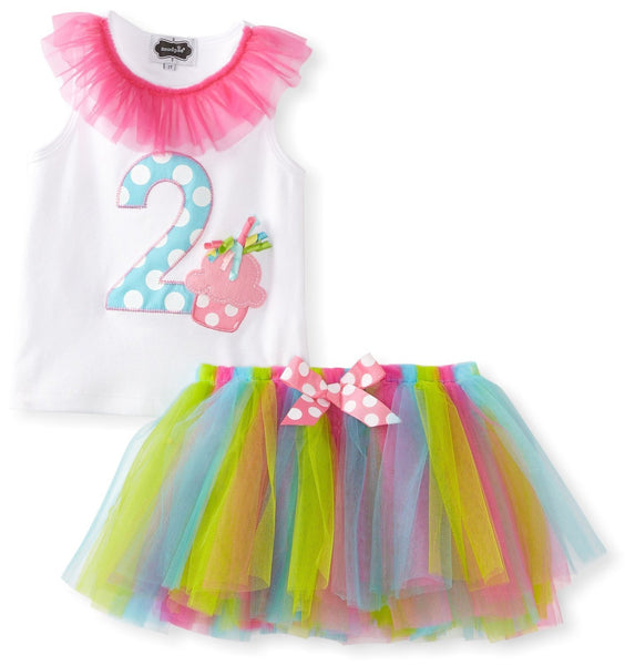 Mud Pie - I'm 2 Tutu Set