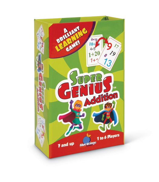 Blue Orange - Super Genius Card Game: Addition