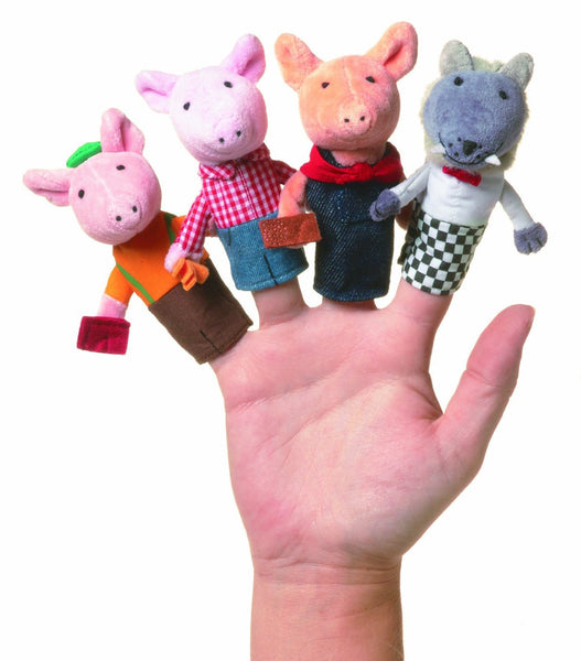 Manhatten Toy - Three Little Pigs Finger Puppets
