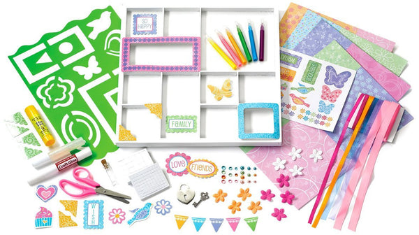 Creativity for Kids - Scrapbook Shadowbox*