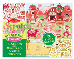 Melissa & Doug - Scratch and Sniff Fruitville Sticker Pad
