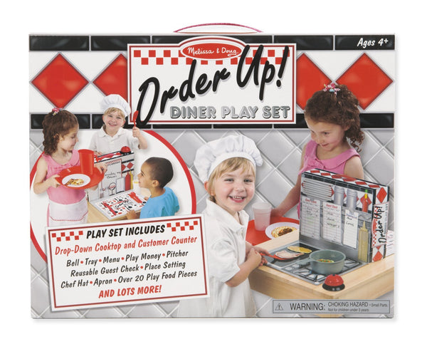 Melissa & Doug - Order Up! Diner Play Set