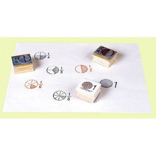 CE785 Fraction Circle Stamp Set