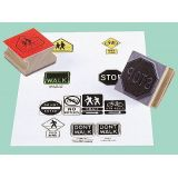 Center Enterprises CE950 Safety Signs Stamps