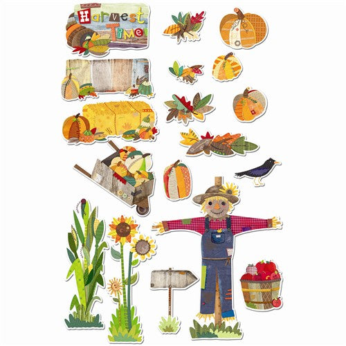 Autumn Harvest Bulletin Board Set - CTP1641