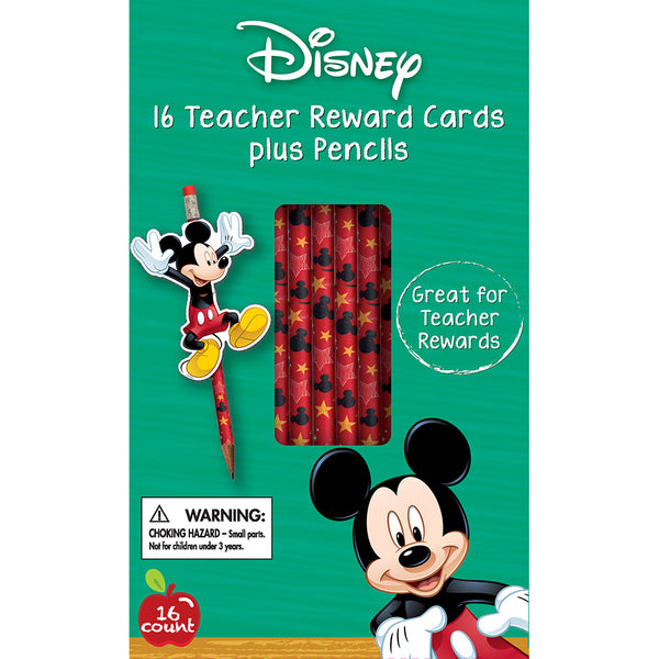 Teacher Pencils + Reward Cards