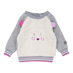 Deux par Deux - Fluffy Friends Fuzzy Sweater + Pants Set**