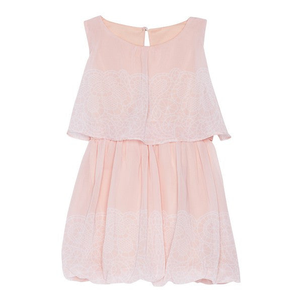 Deux par Deux - A la Une Chiffon Tween Dress^