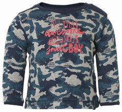 Noppies - Boys Camo Baseball Tee**