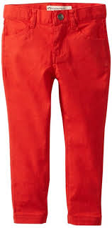 Appaman - Poppy Red Skinny Twill Girls Pants