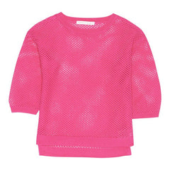 Deux par Deux - Girls Mesh Sweater**