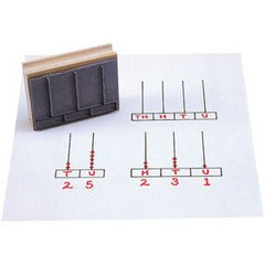 Center Enterprises CE795 Abacus Stamps