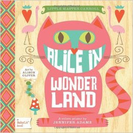 Raincoast - Alice In Wonderland Colors Primer Book & Playset
