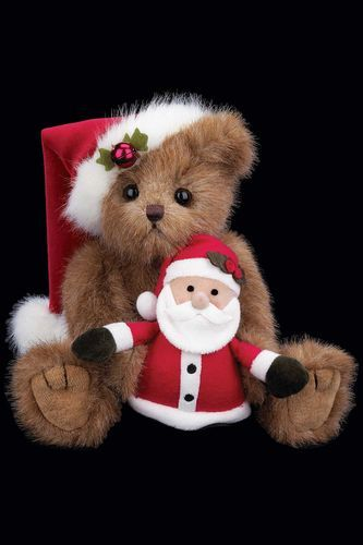 Bearington - Santa and Claus Plush Bear*