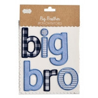 Mudpie - Big Bro/Sis Iron on Patch