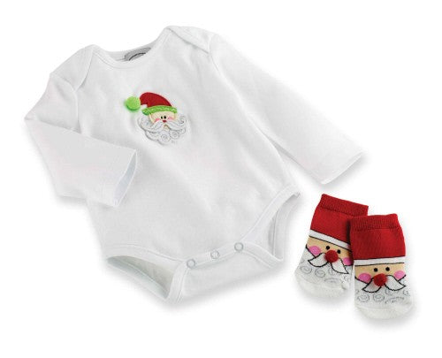 MudPie - Christmas Onesie & Socks Box Set*