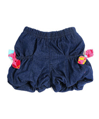 Servane Barrau - Denim Bubble Short**