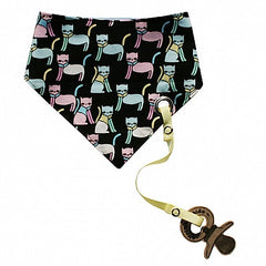 Electrik Kidz - Snap Bandana with Paci Clip