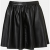 Blu - Black Faux Leather Skirt