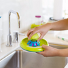 Boon - Forb Mini Soap Dispensing Silicone Dish Brush