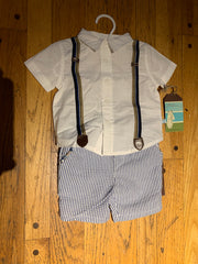 Fore!! Axel & Hudson - Baby Linen Shorts and Top 2 pc set*^
