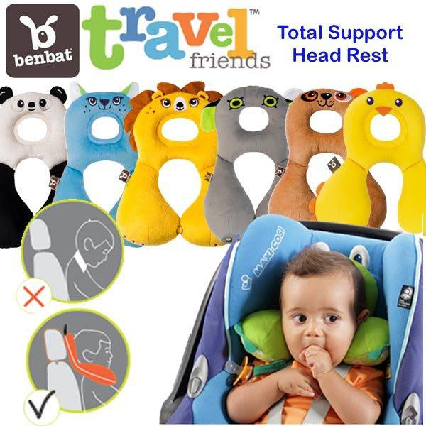 Travel Friends Total Support Headrest