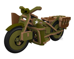 Buildex - Harley Davidson Vintage Armed Forces Motorcycle*