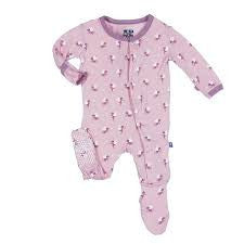 KicKee Pants - Baby Girl Footie