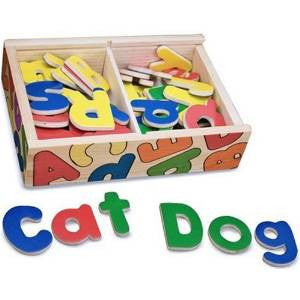 Melissa & Doug - Magnetic Wooden Letters*
