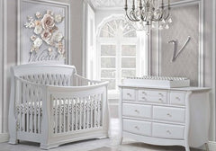 Natart - Bella Nursery Collection in Pure White