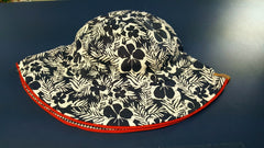 Aardvark - Girls Reversible Floral Bucket Hat^