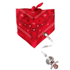 Electric Kidz - Bubble Bandana with pacifier clip