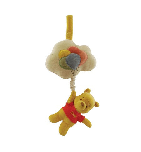 Organic Winnie the Pooh Musical Pull Toy